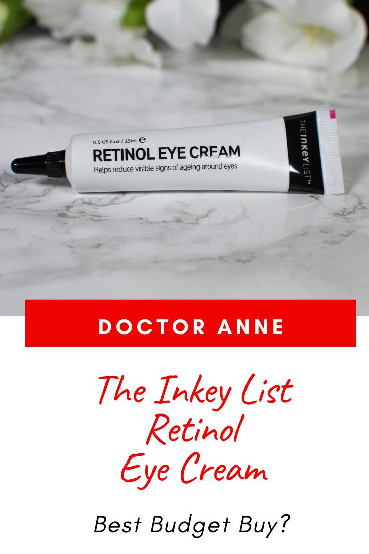 The Inkey List Retinol Eye Cream Review