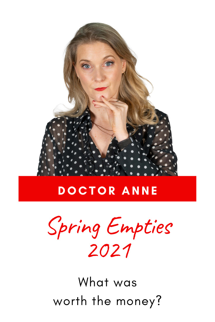 Spring Empties 2021: Skincare, haircare and makeup I used up. What was worth the money and will get repurchased?