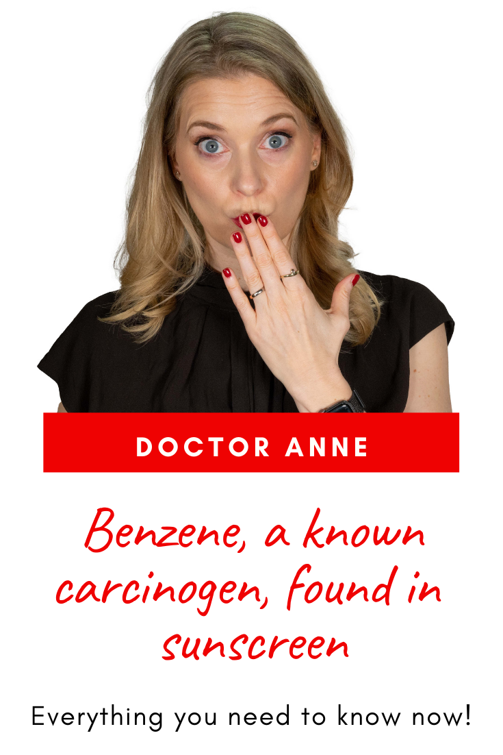 Benzene in sunscreen - Everything you need to know now