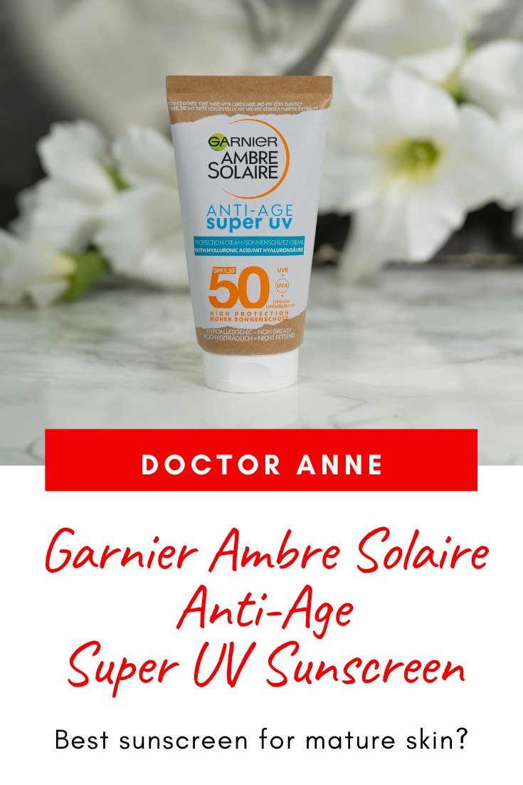 Garnier Ambre Solaire Anti-Age Super UV Sunscreen Review - is it worth the hype?