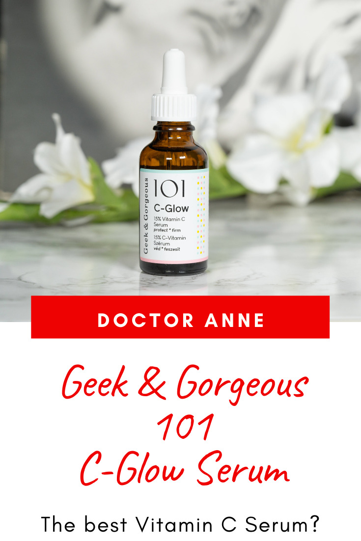 Full review of the Geek & Gorgeous 101 C-Glow Serum - claims, ingredients and if it actually delivers!
